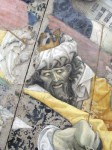A detail from the fresco