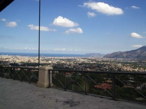 A view of Palermo from just below Monreale