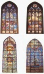 Some of the beautiful stained glass