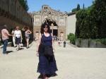 Aviva before the Grotto Grande