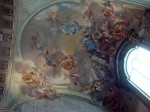 The ceiling of the Brancacci chapel