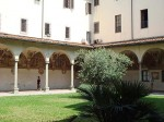 A view of the cloister