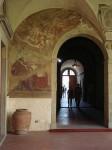 Fresco in the cloister