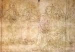 Drawing of Last Supper by Ghirlandaio