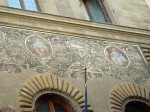 Painted building facades