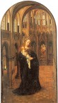 """Madonna in a Church"" by Jan Gossaert (detto Mabuse)"