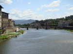 A view down the Arno from the Ponte Vechio