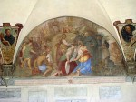 A fresco from the cloister