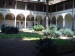 A view of the cloister of Santa Maria del Carmine