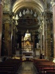 The alter at Santa Maria della Scala