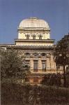 The facade of the Sinagoga