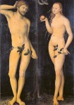 """Adam and Eve"" by Lukas Cranach"