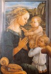 """Madonna and Child and Two Angels"" by Filippo Lippi"