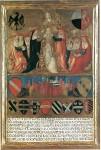 """Biccherna Vecchietta, """"Incoronazione di Pio II,"""" 1460"""