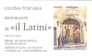 il Latini card