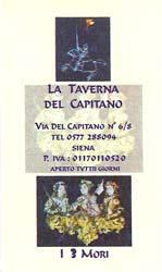 La Taverna Del Capitano card