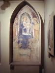The matching fresco by Gaddi