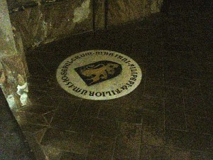 Marker for the grave of Sandro Botticelli