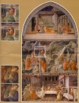 Pages from the brochure on the recent restoration of the frescos