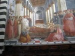 One of Lippi's frescoes