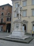A statue of Marzoni