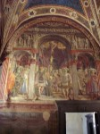 One of the entry way frescoes