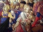 Detail from a painting of the massacre of the innocents