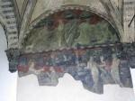 An arch fresco