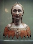 Bust of a virgin