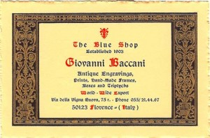 The Blue Shop card
