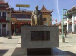 The Sun Yat-Sen statue in Chinatown