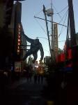 King Kong with his surroundings