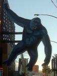 A close up of King Kong