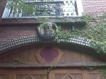A head from a cool facade on Lookout Mountain