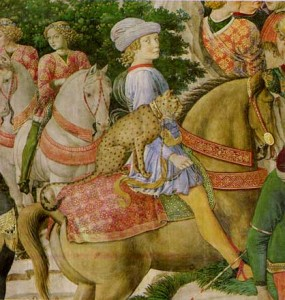 The Story of the Magi (detail) by Benozzo Gozzoli