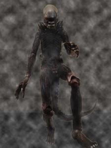The Revoltech Alien articulated figure