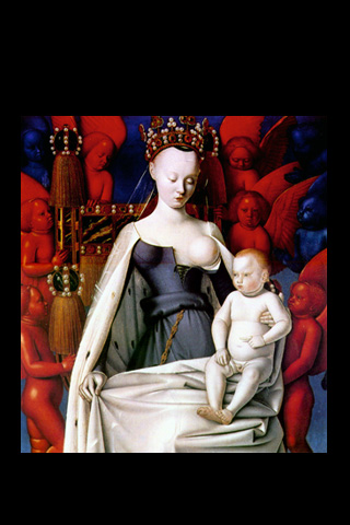 Jean Fouquet - Virgin and Child