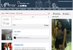 The main page of the TriMirror website