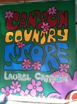 The sign for the Canyon Country Store