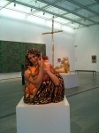 A couple of pieces by Jeff Koons