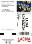 The ticket to get into LACMA