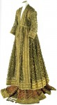 """The gown of the """"Queen of Oudh,"""" mid 19th century"""
