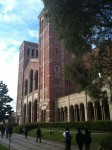 The main front facade of Royce Hall