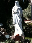 A statue outside