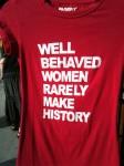 A tee shirt I saw while walking around
