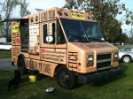 The PhyDough Truck - they make healthy treats for dogs