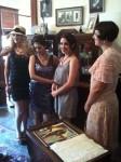 Four women in period dress