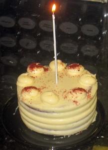 Aviva got me this great cake for my birthday