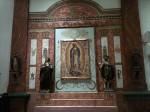 Right-hand wall: Nuestra Senora de Guadalope