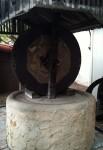 An olive press